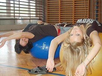Protahování před cvičením