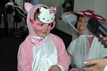 V Brandově se konal dětský karneval.