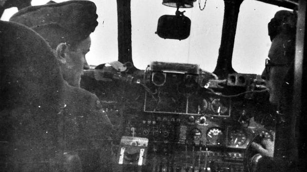 Příslušníci letectva RAF z Mostecka.