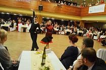 Reprezentační ples Ústeckého kraje.