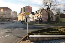 V Litvínově se bude odvodňovat frekventovaná křižovatka ulic Studentská, Mostecká a Valdštejnská