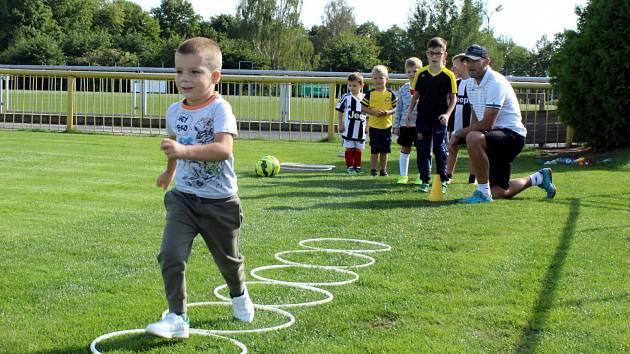 Fotbalový klub Baník Souš pořádal nábor mladých zájemců