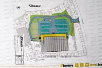 Hokejový klub představil radním města vizualizaci hokejové arény.