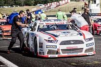 Evropská série NASCAR měla v Mostě premiéru.