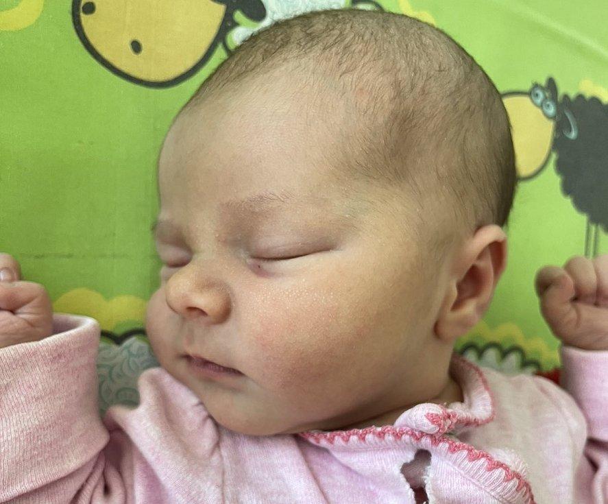 Kateřina Růžičková se narodila 12. Června v 9.55 hodin mamince Zuzaně Růžičkové z Mostu. Měřila 50 cm a vážila 3,13 kg.
