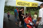 Kelleyho oslavy na mosteckém Hněvíně.