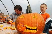 V Želenicích budou připravovat dýně na Halloween.