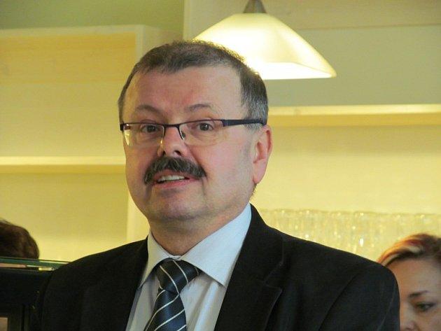 Vladimír Vopelka, ředitel příspěvkové organizace domovy sociálních služeb.
