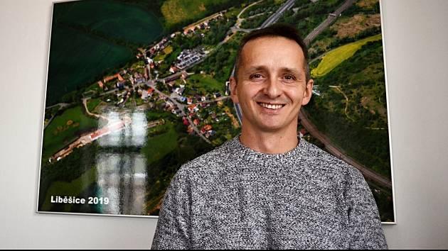 Starosta obce Želenice a osady Liběšice Jan Zálešák