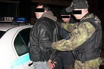 Strážníci zadrželi zloděje, který v masce pavoučího muže šplhal po paneláku.