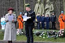 Pietní vzpomínka na důlní neštěstí z 3. ledna 1934 na dole Nelson III v Oseku