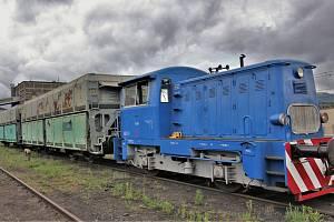 Železniční vagon ze Sev.en Energy zamířil do depozitáře Národního technického muzea v Chomutově.