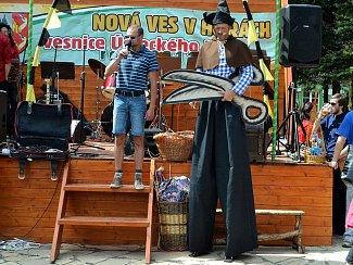 Tradiční Novoveské letní slavnosti. Archivní foto