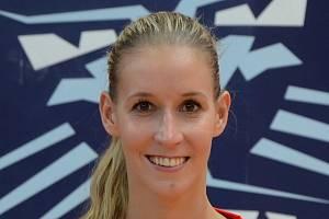 Basketbalistka Naďa Salačová.