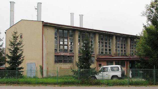 Mazutová kotelna v Žatci je mimo provoz od roku 2010.