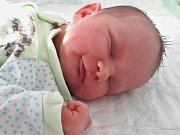 Pavlína Richterová se narodila Lence Musilové z Mostu 3. února v 9.17 hodin. Měřila 53 cm a vážila 4,34 kilogramu.