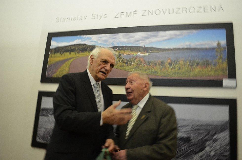 Výstava o Mostecku na Hradčanech.