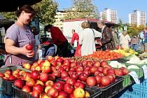 Farmářská slavnost na 1. náměstí v Mostě