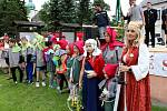 V krušnohorském městě Hora Svaté Kateřiny založili novou tradici, a sice pořádání hornické slavnosti.