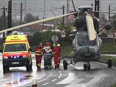 Nedělní tragická nehoda mezi Mostem a Litvínovem si vyžádala jeden lidský život.
