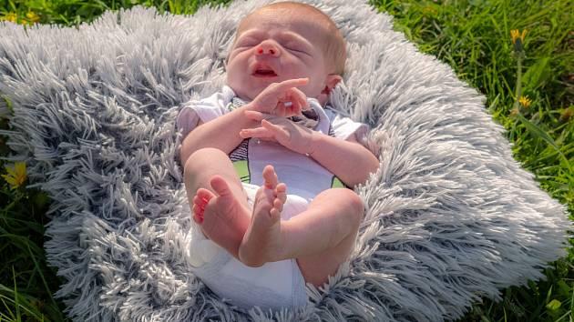 Alex Popovič se narodil  20. 4. 2020 v 9:12 hodin v chomutovské nemocnici za přítomnosti tatínka Pavla, po uvolnění zákazu přítomnosti třetí osoby u porodu, mamince Janě Görgové. Vážil 3 550g a měřil 53 cm.