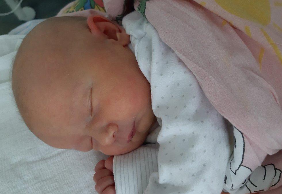 Teodora Toth se narodila mamince Renatě Toth z Mostu 20. února ve 4.50 hodin. Měřila 50 cm a vážila 3,36 kilogramu.