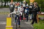 Okresní cyklistická soutěž na dopravním hřišti v Mostě
