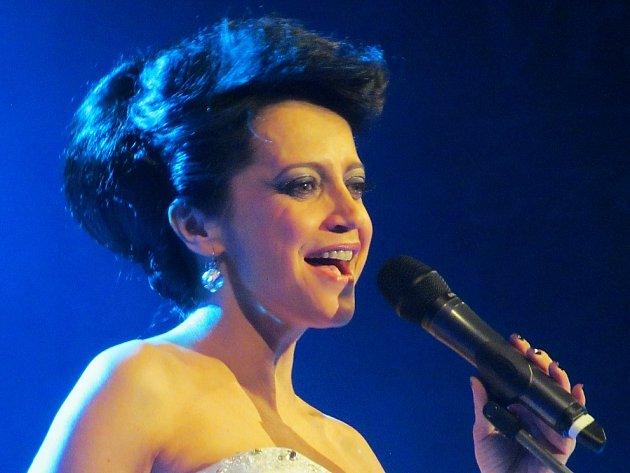 Lucie Bílá znovu přijede do Mostu. Ve městě naposledy vystoupila v prosinci 2014.