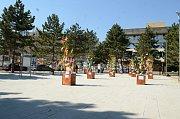 Velikonoční jarmark na 1. náměstí v Mostě