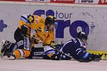 Hokej Litvínov versus Vítkovice.