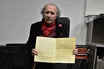 Kapelník a muzikant Petr Macek