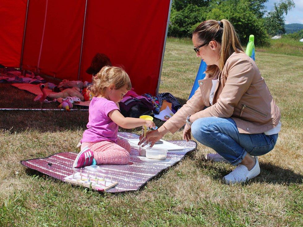 Loukyjáda nabídla program pro děti i zábavné aktivity pro dospělé.