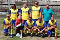 Vítězný tým FK Teplice, které ukončily čtyřletou nadvládu Baníku Most.
