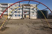 Sídliště Chánov, únor 2012.