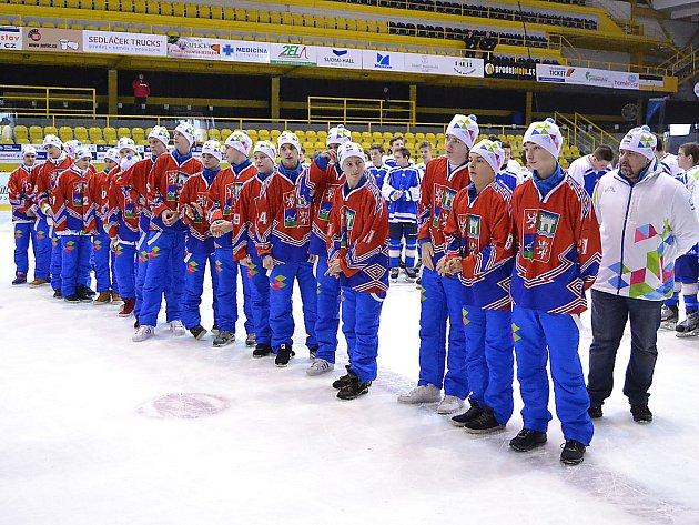 Hokejisté Ústeckého kraje skončili na olympijském turnaji šestí.
