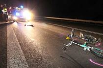 Smrtelná nehoda cyklisty.
