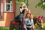 Studentský Majáles v litvínovském Zámeckém parku.