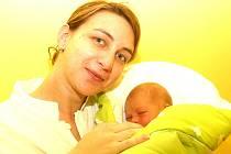 Mamince Šárce Pospíšilové z Mostu se 19. ledna ve 2.07 hodin narodila dcera Kristýna Pospíšilová. Vážila 3 kilogramy a měřila 48 centimetrů.