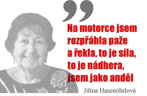 Jiřina Hasenöhrlová.