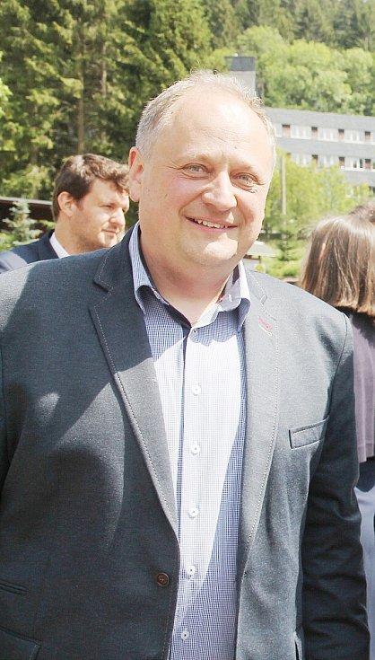Petr Fišer, předseda Českojiřetínského spolku a předseda správní rady Nadačního fondu Moldavská dráha / Teplický Semmering