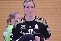 Hana Martinková v dresu německého Zwickau.