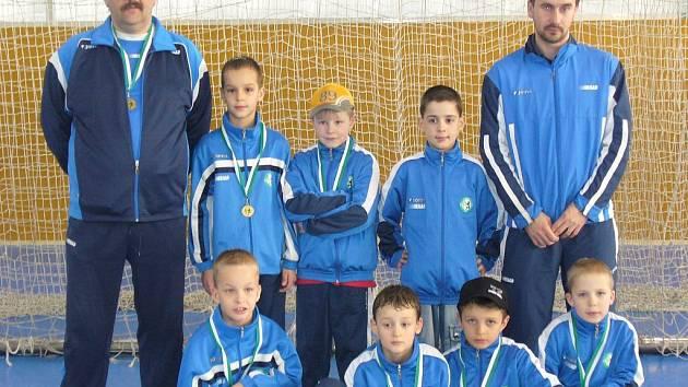 Přípravka FK SIAD Most vyhrála třetí místo.