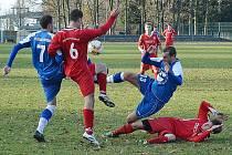 Vyhlášené derby Olbernhau versus Deutschneudorf.