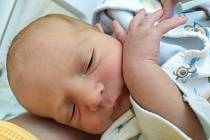 Jiří Jirkovský se narodil mamince Lence Jirkovské z Mostu 26. května v 10.29 hodin. Měřil 50 cm a vážil 3,3 kilogramu.