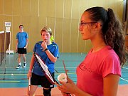 Mezinárodní badmintonové soustředění.