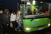Zelená autobusová doprava v kraji.