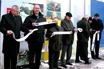 Otevírání nové čističky pro Litvínov.
