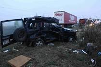 Tragická nehoda u Havraně
