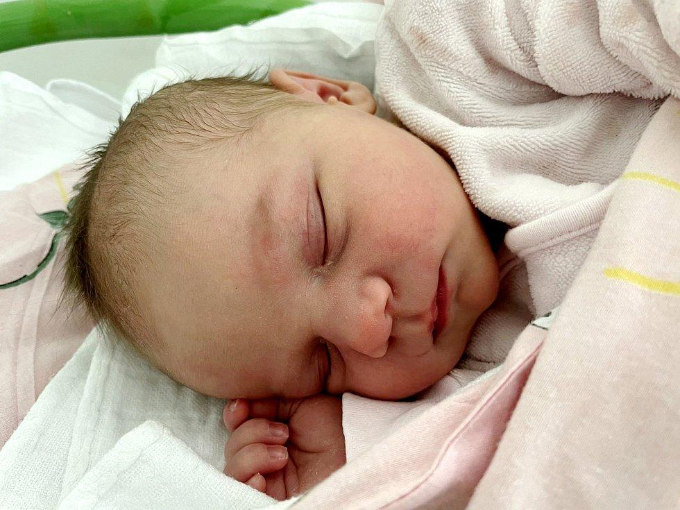 Markéta Trčková se narodila mamince Michaele Rendlové z Mostu 22. května ve 12.55 hodin. Měřila 49 cm a vážila 3,59 kilogramu.