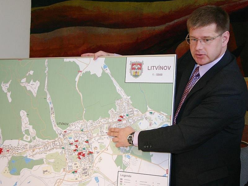 Litvínovský starosta Daniel Volák.
